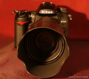 Nikon D7000 s objektivem 70 -300m