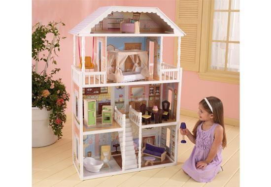 Třípatrový domeček pro panenky
