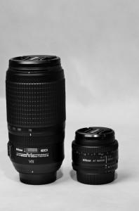 Zoom 70 -200 mm v porovnání s pevným objektivem 50mm