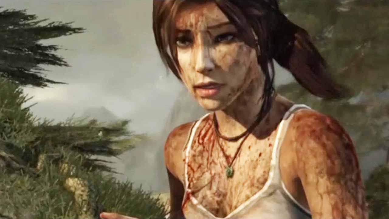 Bezbranná archeoložka Lara Croft tak začíná na útesu její příběh