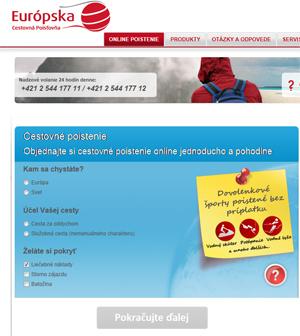 Cestovní pojistění online