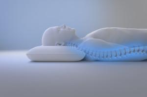 Blue Gel polštář