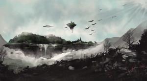 Projekt: Alorie a Morgun (Kvarda Art), Kresba: Anna Marhoulová